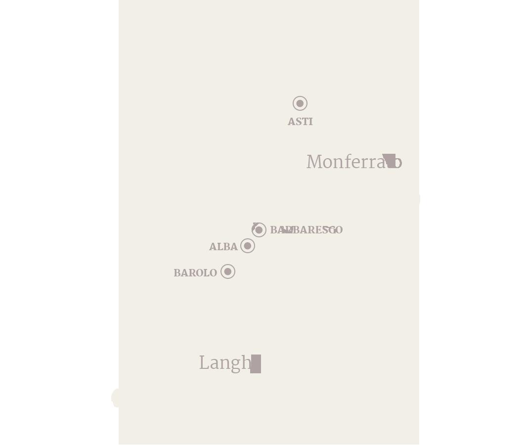 Langhe Region Italy Map.On The Border Between Lower Langa And Monferrato Regions Azienda